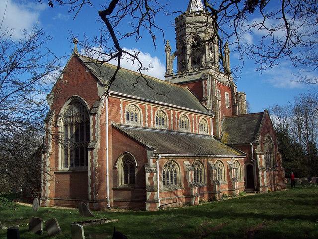 St Leonard's Church, Sherfield English