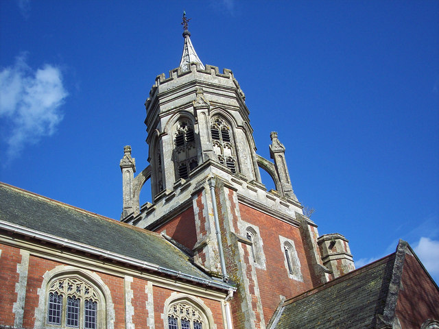 The spire of St Leonard's Church, Sherfield English