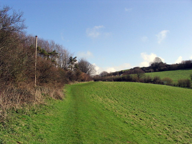 Path from Pymore towards Bradpole