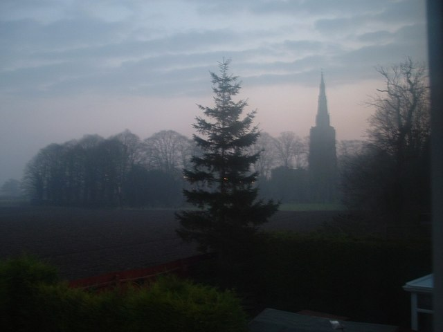St Mary & the Holy Rood at Dawn