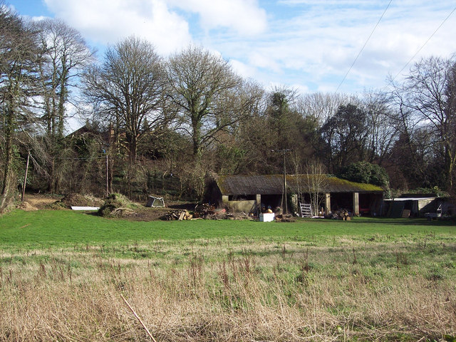 Farm Buildings at Badgers, Bunny Lane