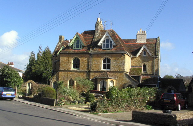 Victorian housing in St. Andrew's Rd, Bridport