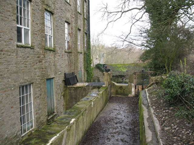 Mill Race at Aysgarth