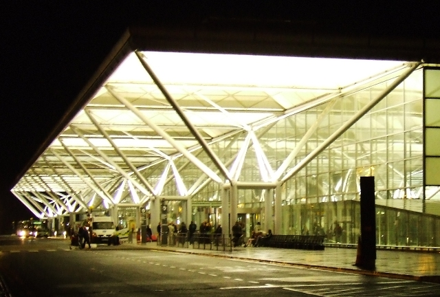 Stansted Airport Main Entrance