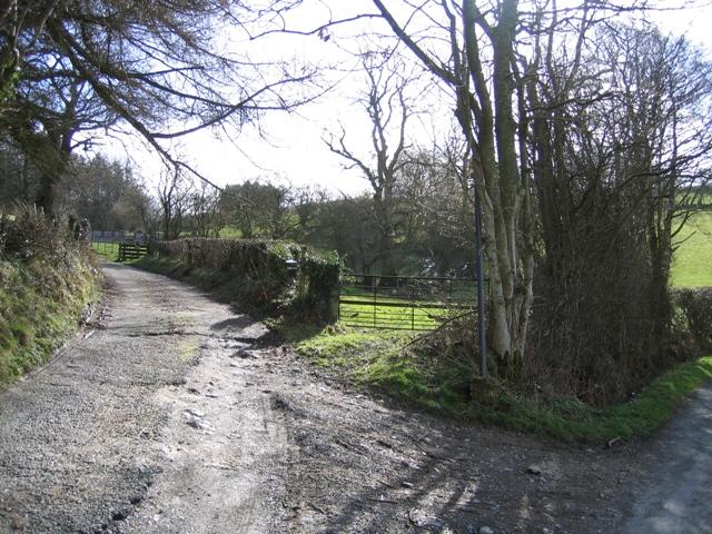 Bridleway to Bwlch y Groes