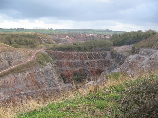 Quarry workings at Wick