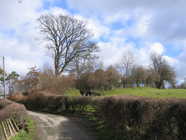 Old and New Roads at Morfydd