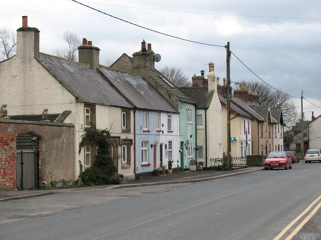 Village street, Londonderry.
