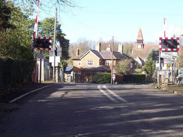 Level Crossing, West Dean