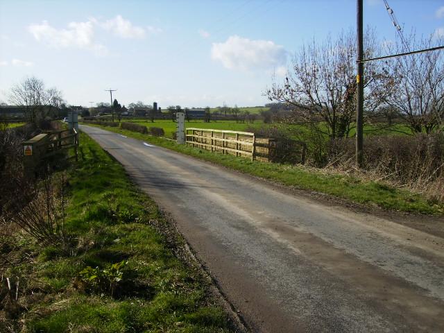 Bog Drain bridge on Mary Lane