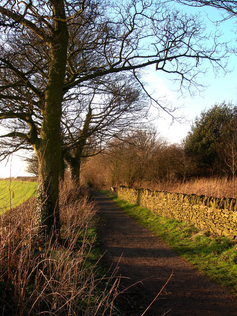 Path from High Lane to Mosborough