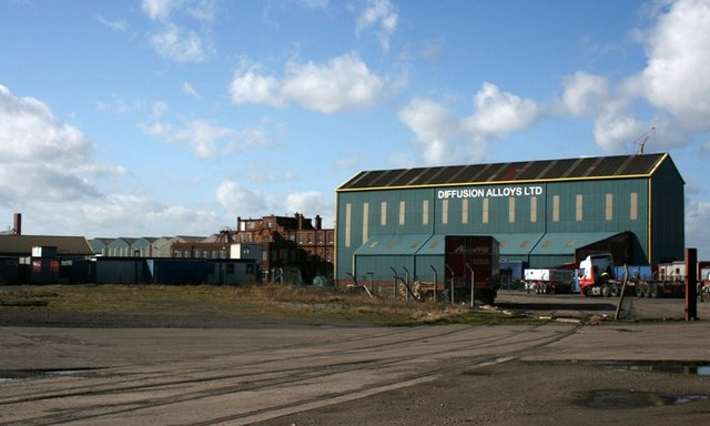 Sheds and Office at the Tees Offshore Base