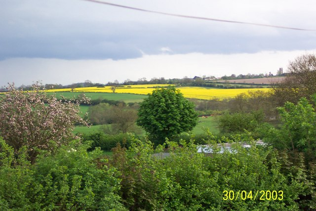 View towards Orlingbury from Isham Rd, Pytchley