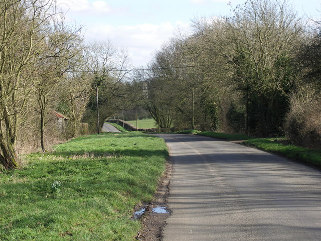 Country Road to Haselbech.