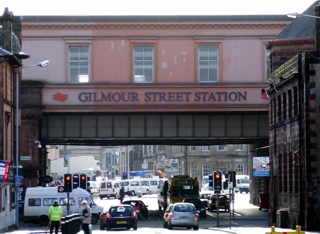 Gilmour Street Station Bridge