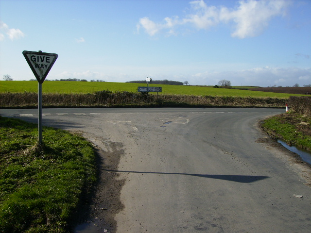 Road Junction on the B6265