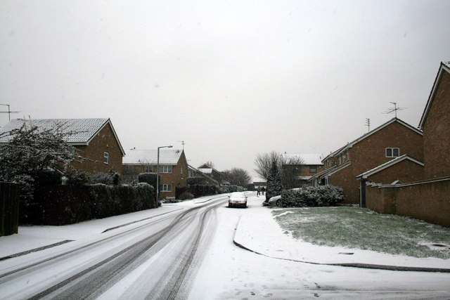 Snow on Kensington Road