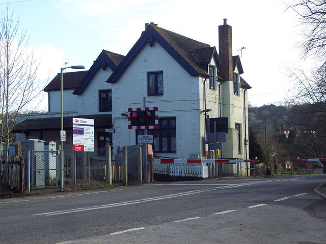 Level Crossing, West Dean