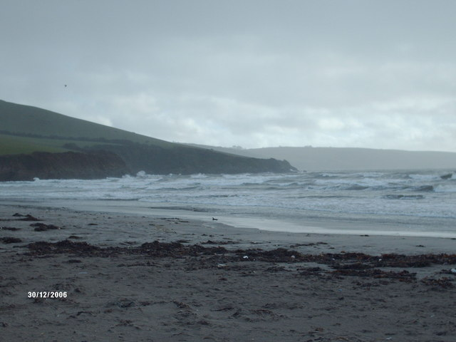 Par Beach in Winter