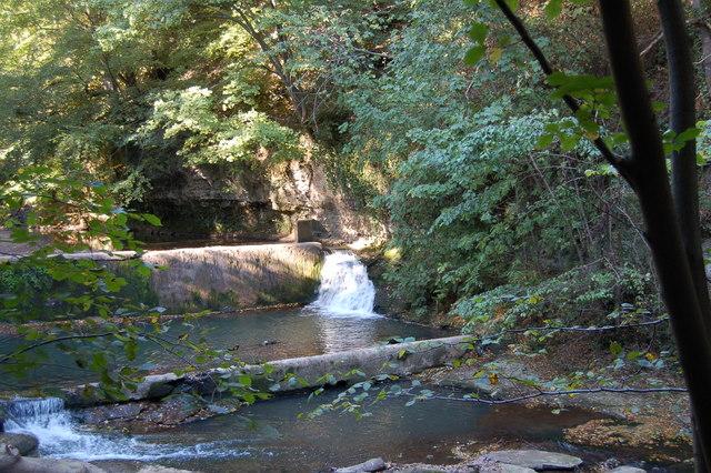 Waterfall at Skelton Beck