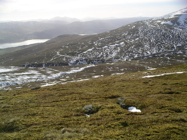 South Westerly slopes of Meall Greigh