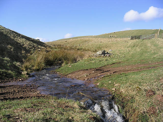 Hill farming country