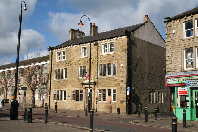 Red Lion Hotel, Colne, Lancashire