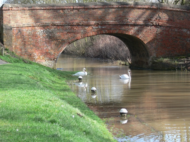 Canal bridge near Aylestone Mill Lock