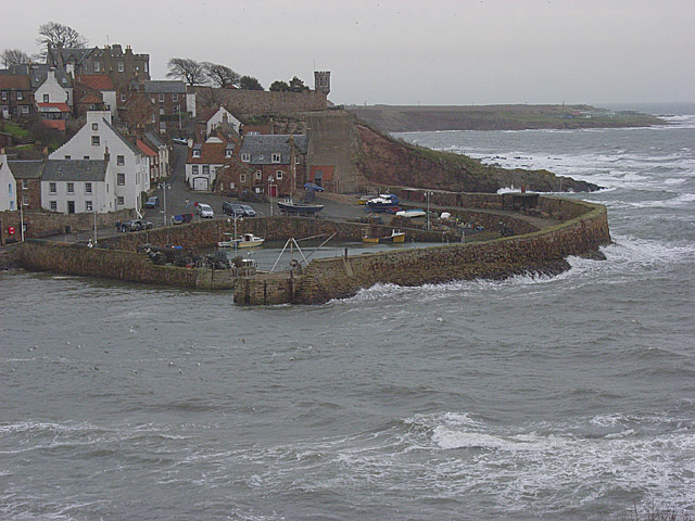 The harbour, Crail