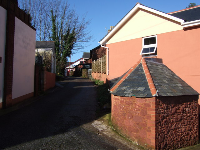 Alley off Ashfield Road, Torquay