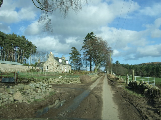 Broombrae farmhouse