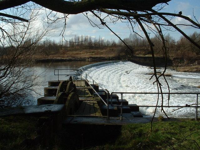 Kirkthorpe Weir, River Calder