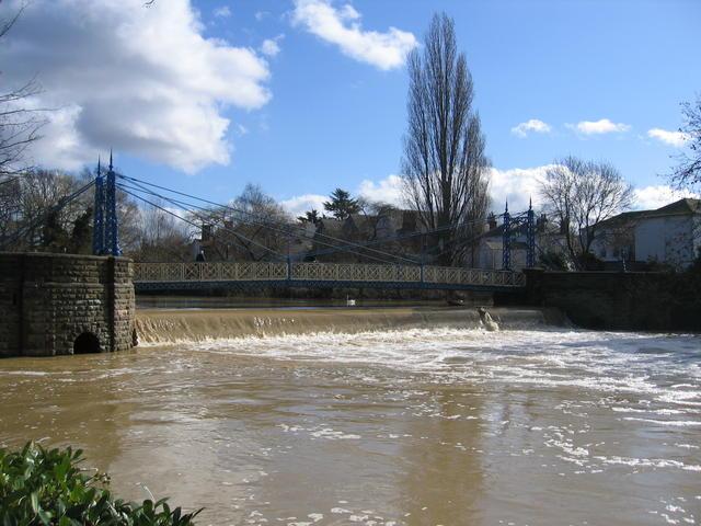 Mill Bridge in flood