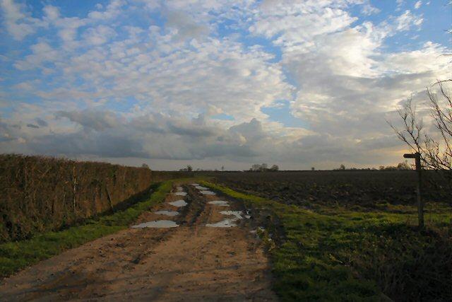 Footpath to Westhorpe