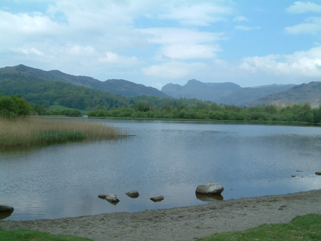 The Langdale Pikes From Elterwater