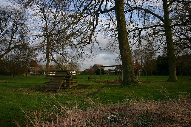 Village green, Finningham