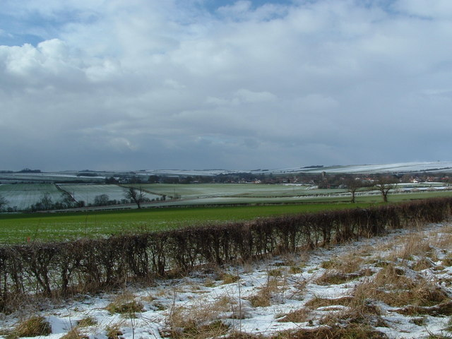 View of Kilham from SE