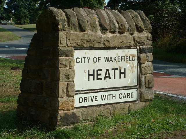 Village Sign, Heath, Wakefield