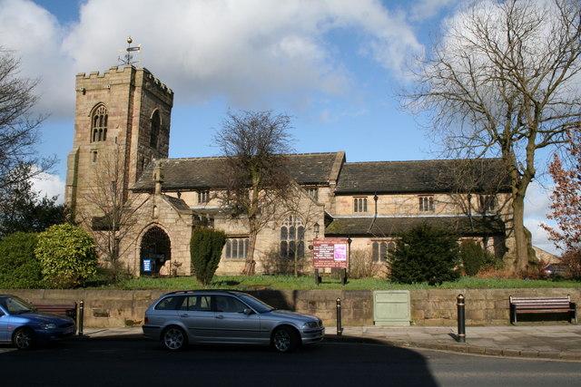 Parish Church of St Bartholomew, Colne, Lancashire