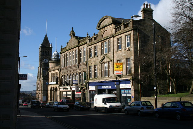 The old Co-op, Colne, Lancashire