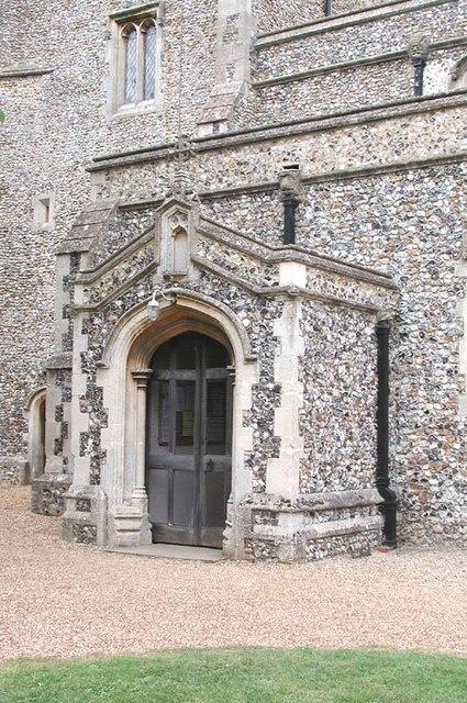 St Nicholas, Great Hormead, Herts - Porch