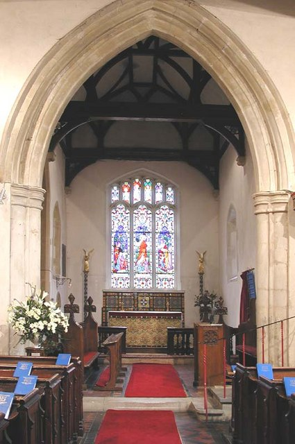 St Mary, Westmill, Herts - East end
