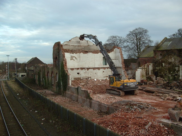 Driffield Sugar Mills - Demolition