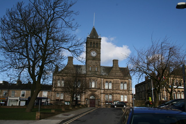 Town Hall, Colne, Lancashire