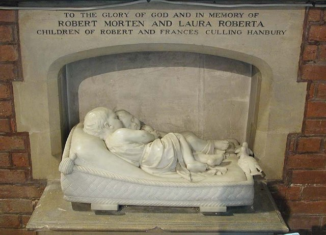 St Mary, Essendon, Herts - Monument