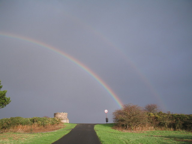 Rainbows above Tower Hill