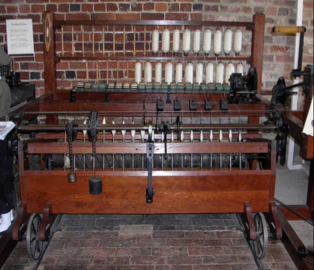 North Mill Museum - Crompton's Spinning Frame