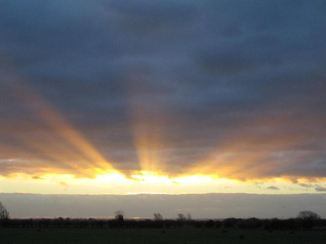 Sunrise 9th Jan 2007