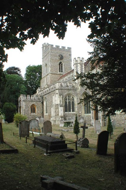 St Andrew & St Mary, Watton-at-Stone, Herts