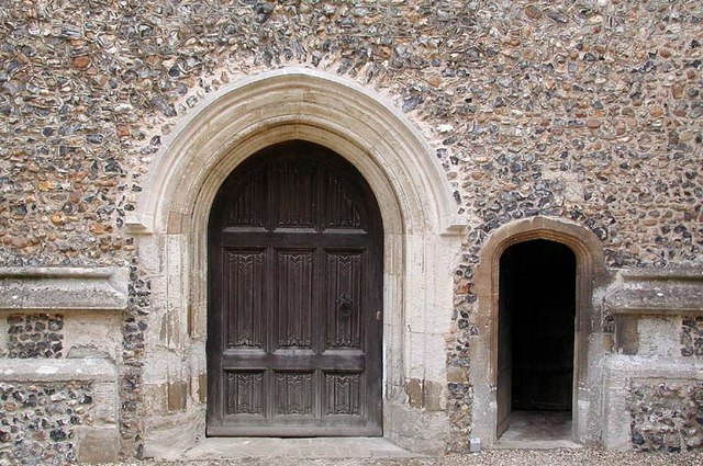 St Andrew & St Mary, Watton-at-Stone, Herts - Doorways